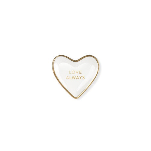 Love Always Ceramic Heart Tray