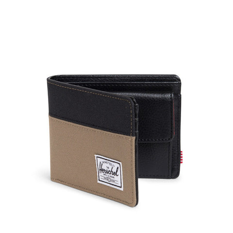 Hank Coin Lead Green and Black Wallet by Herschel Supply Co.