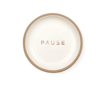 """PAUSE"" Mini Trinket Tray"