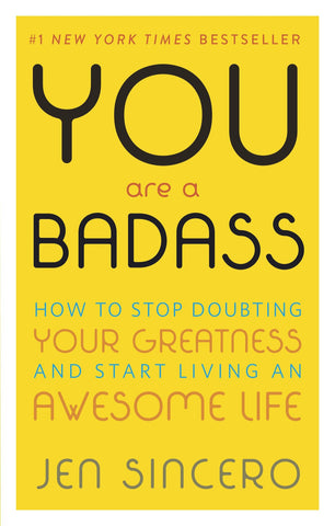 You Are Badass Book