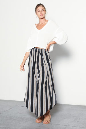 Cana Stripe Tulip Pants