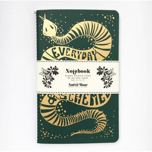 Sneaky Snake Notebook by Native Bear