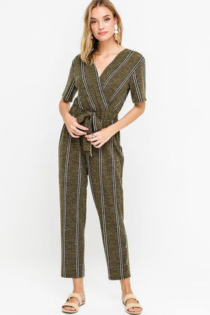 The Aurora Striped Jumpsuit