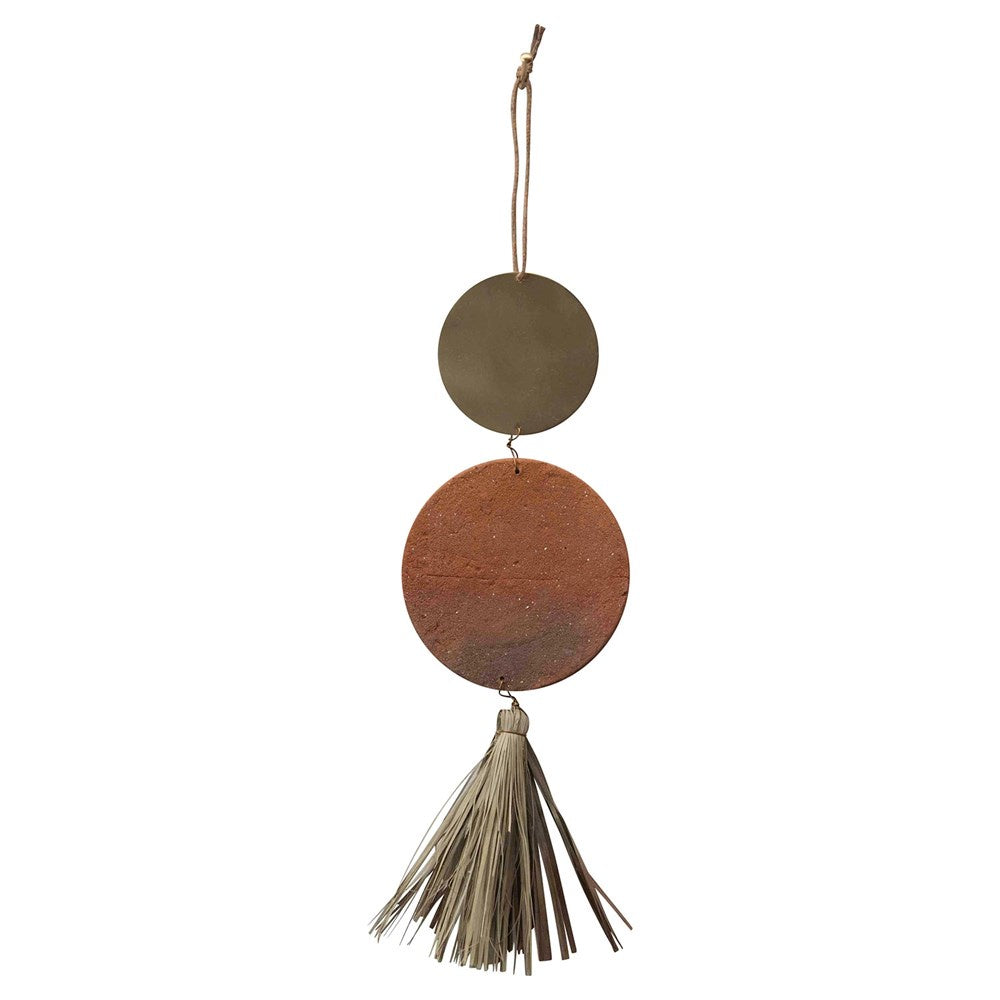 Fringe Terracotta Wallhanging