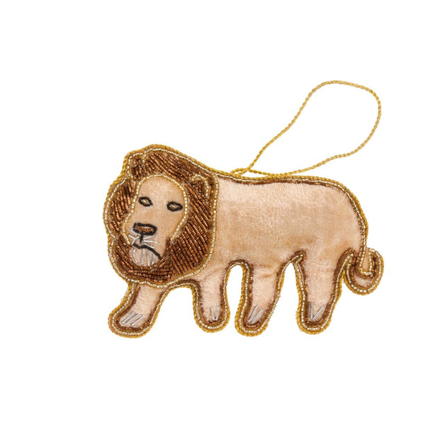 The M'bari Lion Plush Ornament