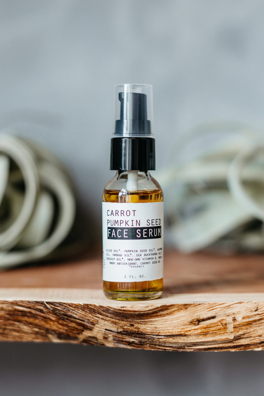 Pumpkin + Carrot Seed Face Serum by Moon River Naturals