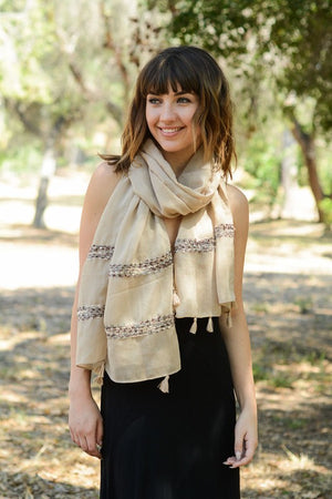 The Sala Stitched Scarf