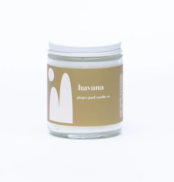Havana Soy Candle by Ginger June Co.