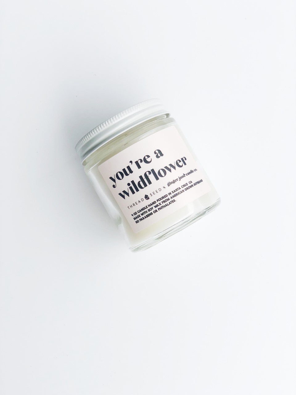 Wildflower Candle by Ginger June x Thread + Seed