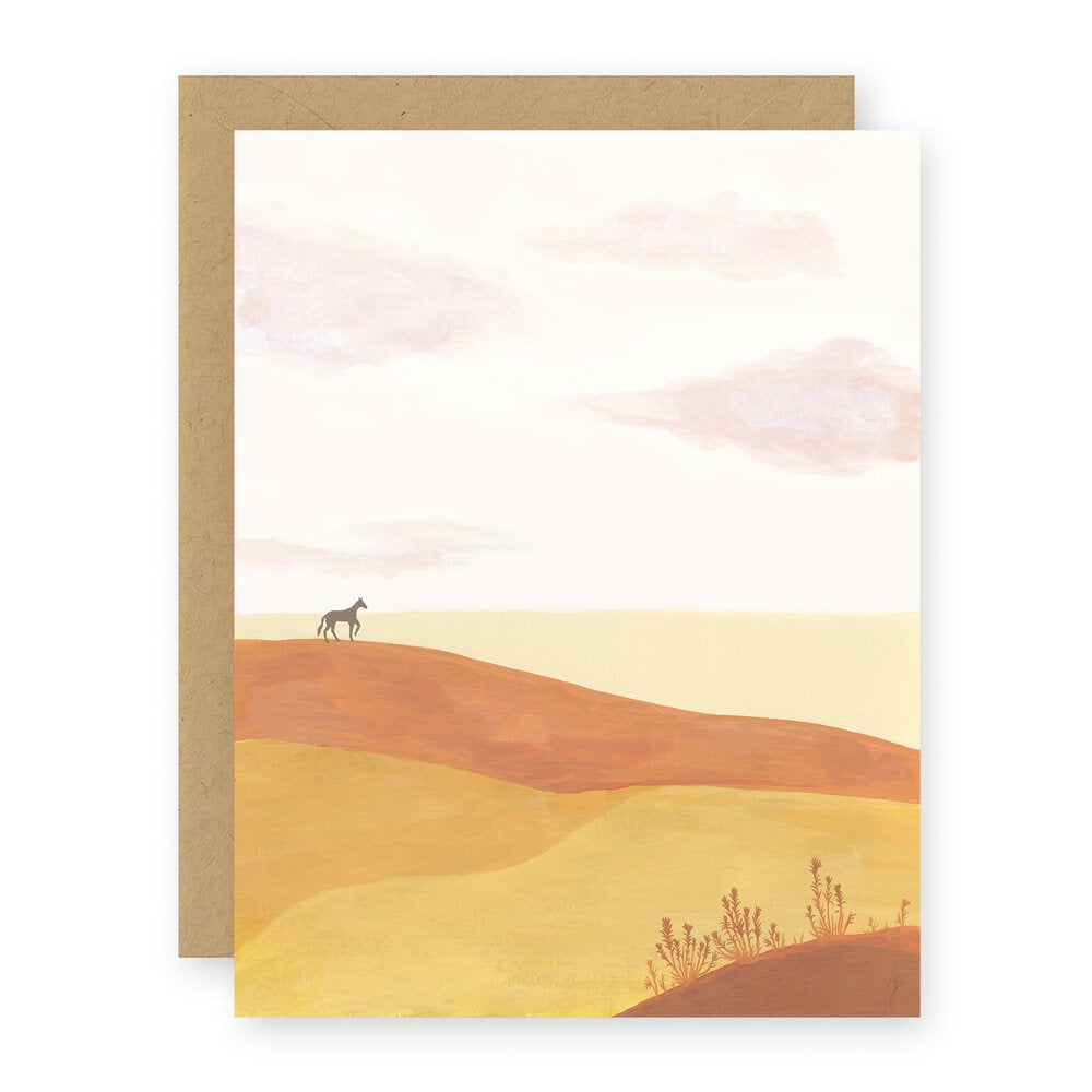 Plains Notecard by Elana Gabrielle