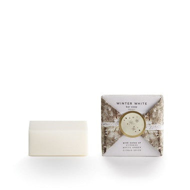 Winter White Mini Bar Soap