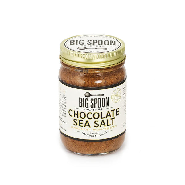 Big Spoon Roaster's Chocolate Sea Salt Almond Butter