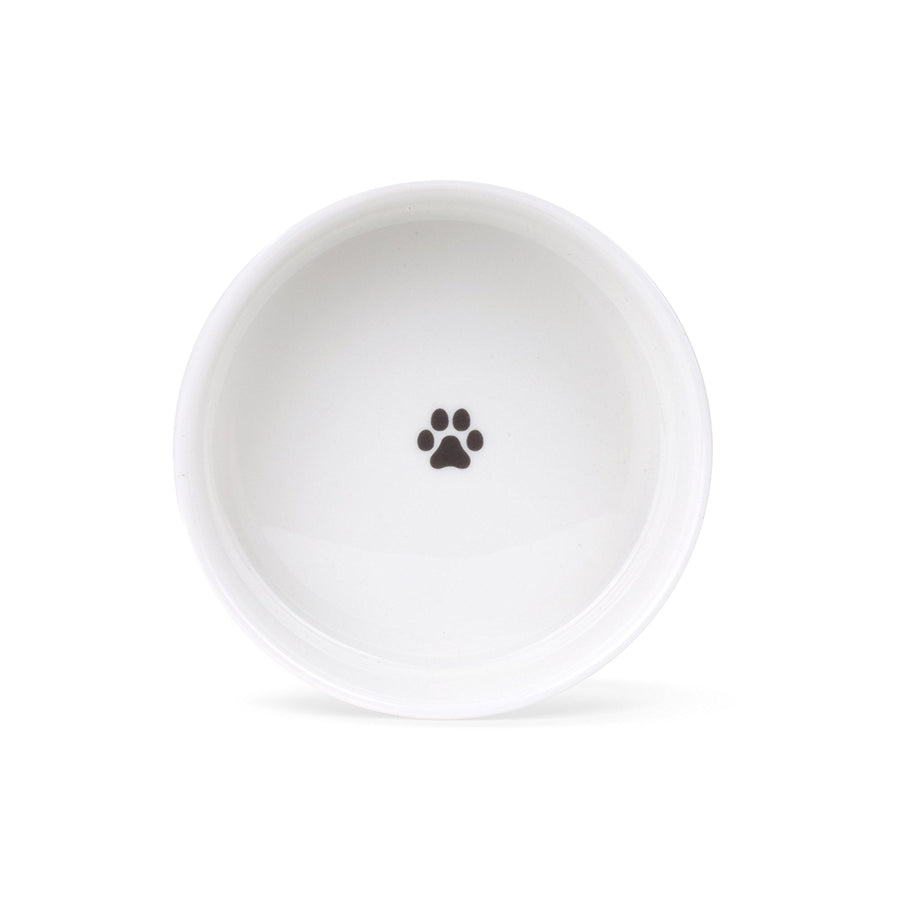Gray Marble Small Food Bowl
