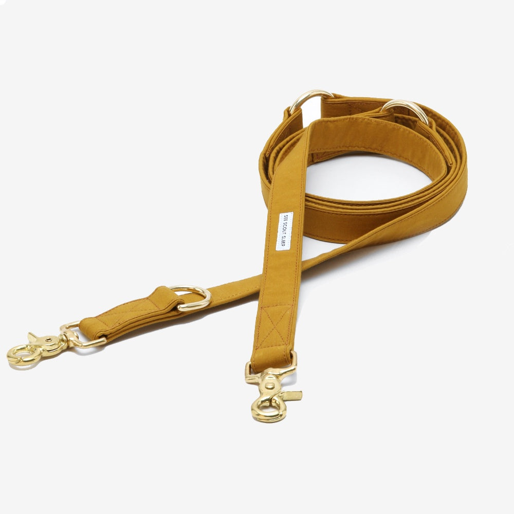 The Mustard Scot Standard Leash by See Scout Sleep