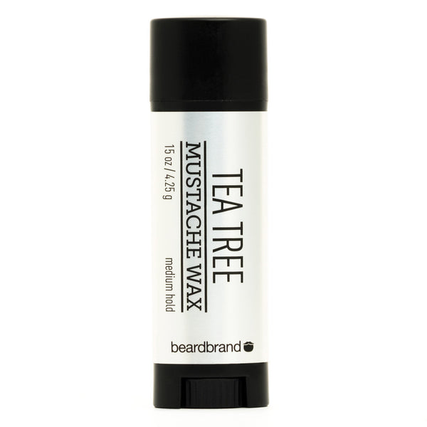 Tea Tree Mustache Wax by Beardbrand