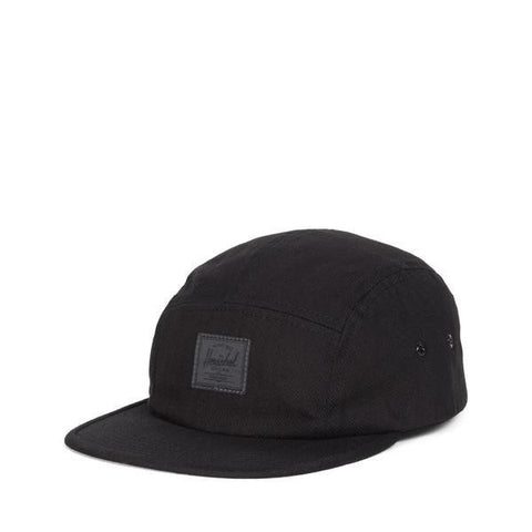 Glendale Cap Black Surplus Cotton