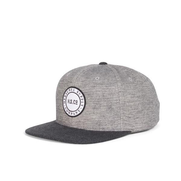 Cam Brushed Cotton Gray Hat by Herschel Supply Co.