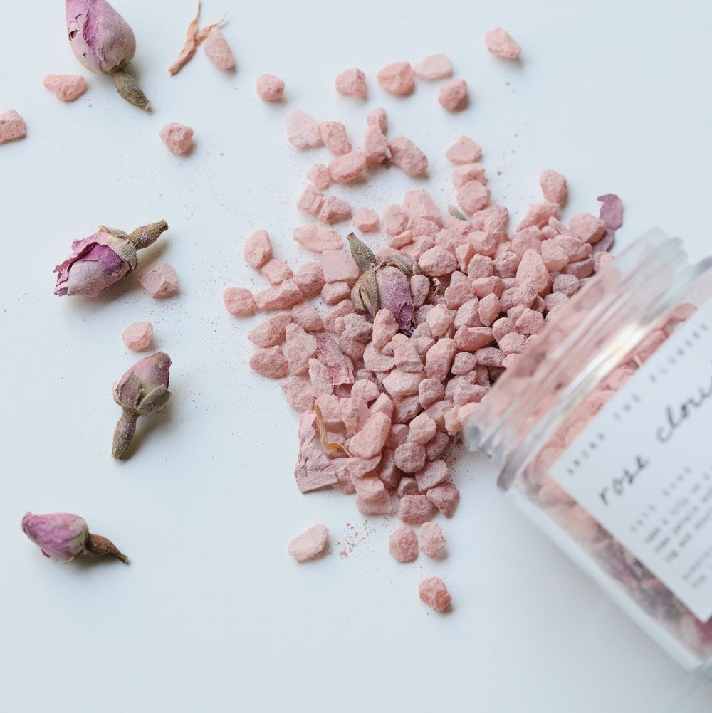 Rose Cloud Bath Soak by Among the Flowers