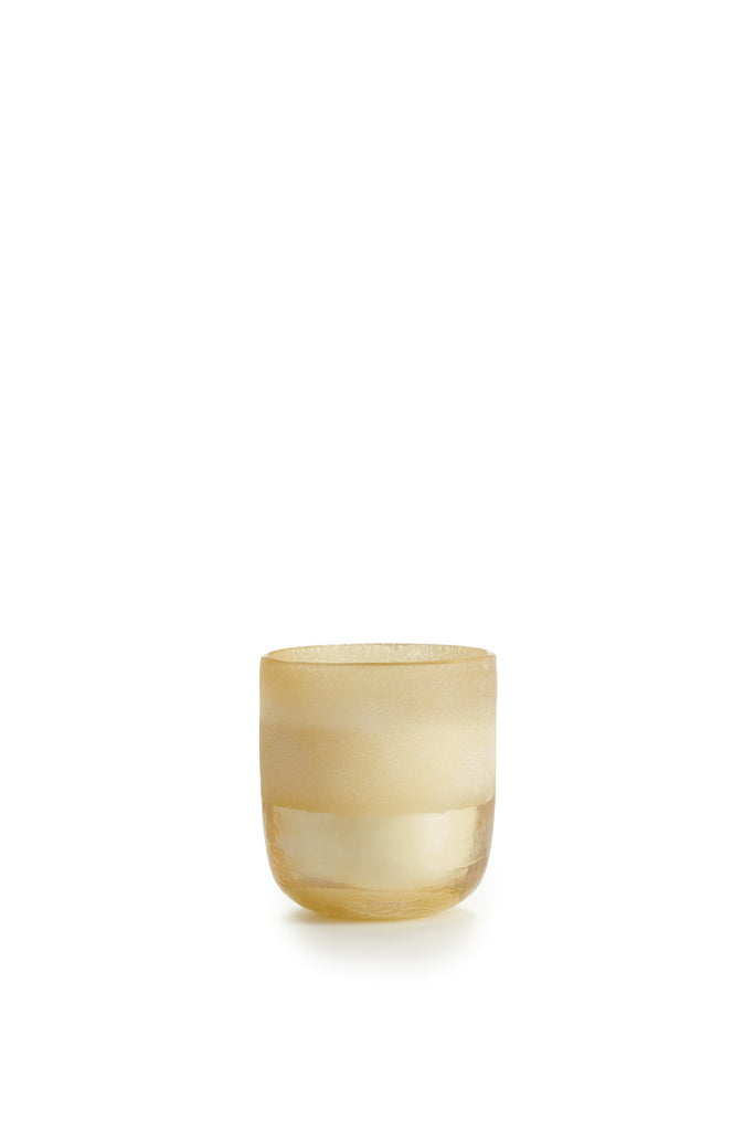 Magnolia Blossom Mojave Sanded Glass Candle