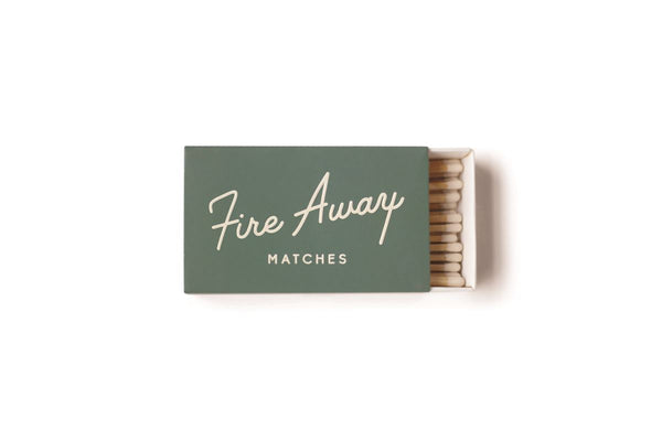 The 'Fire Away' Matchbox