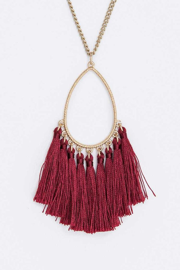 The Jenny Tassel Necklace