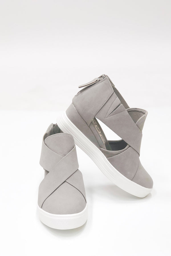 The Melody Cut Out Wrap Sneakers