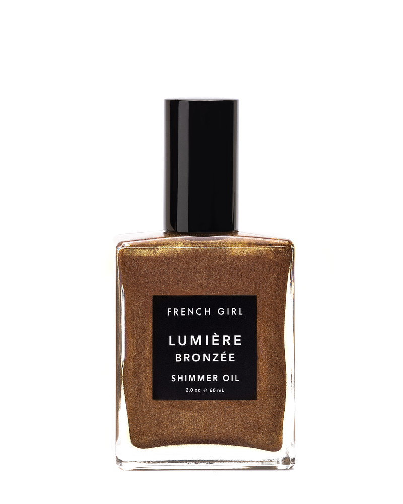 Lumière Bronzée - Shimmer Oil by French Girl