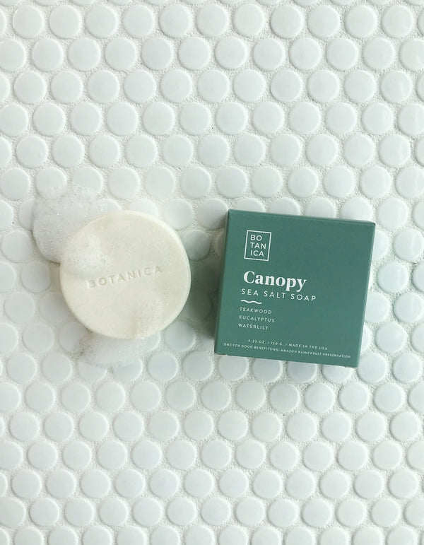 Canopy Sea Salt Soap by Botanica