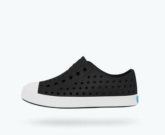 Jefferson Native Kid's Shoe - Jiffy Black / Shell White