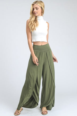 The Marina Wide Leg Tulip Pants
