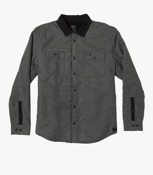 The Victory II Long Sleeve Flannel by RVCA