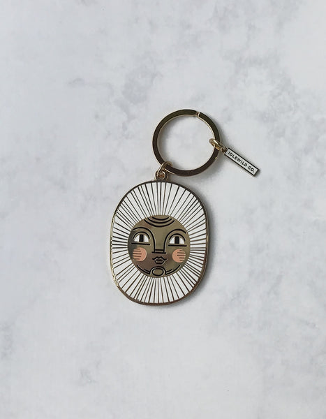 Sun Keychain by Idlewild Co.