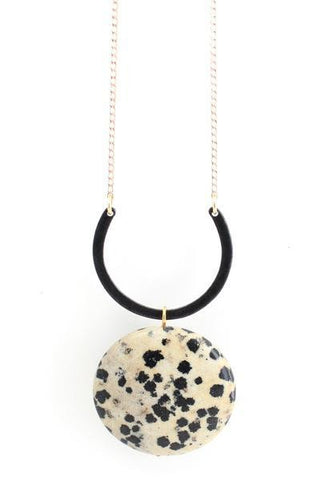 Black Orion Spotted Necklace