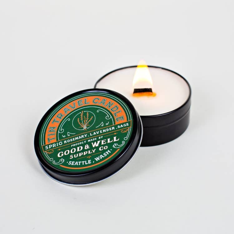 Sprig Travel Candle by Good + Well Supply Co.
