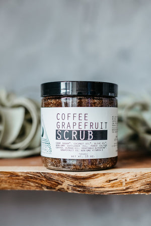 Coffee Grapefruit Body Scrub by Moon River Naturals
