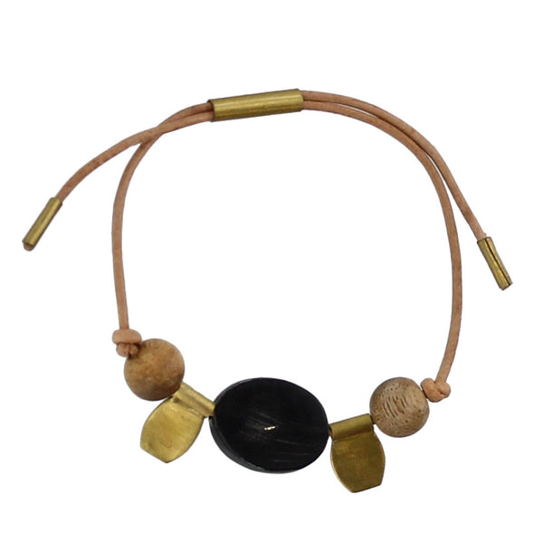 The Aga Brass Talisman Bracelet