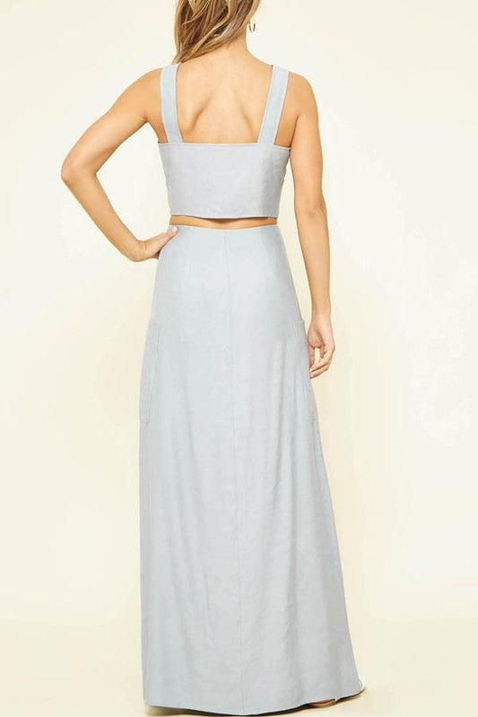 Mae Silky Chambray 2-Piece Set - Sold Separately