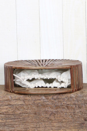 Rhoda Hand Crafted Wooden Clutch