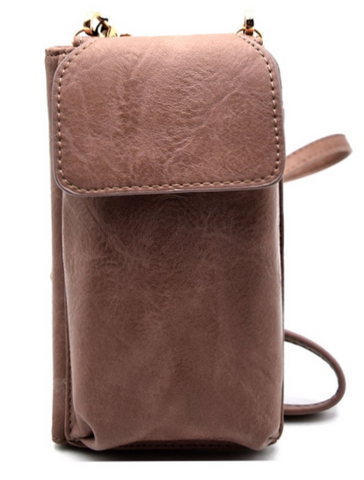 Cross Body Wallet With Phone Holder