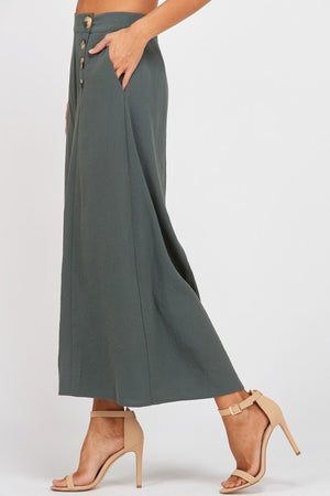 The Carmen Wide Leg Culotte Pants