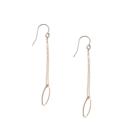 Drop Hojas Earrings