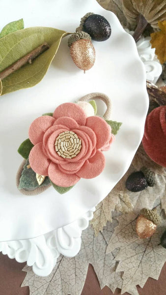 Dainty Felt Flower Crown