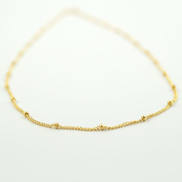 Gold Fill Satellite Necklace by Wander+Lust Jewelry