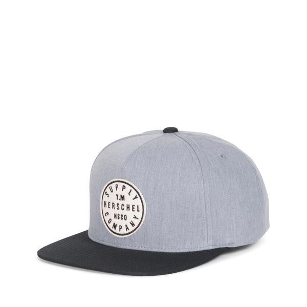 TM Cap Heather Grey and Black