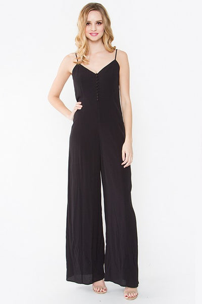 Mindy Buttondown Slip Jumpsuit