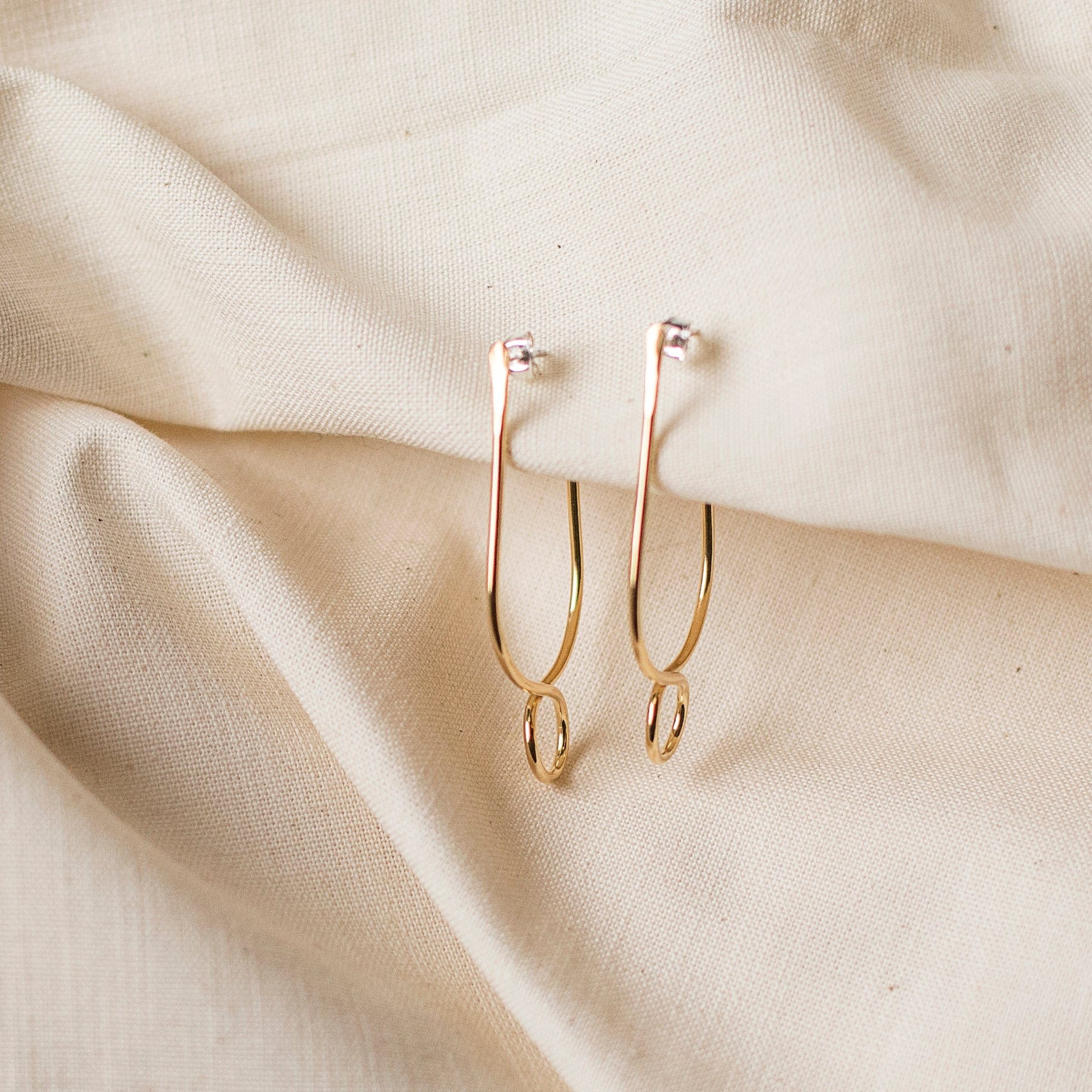 The Dune Loop Earrings by Cire' Alexandria