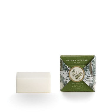 Balsam and Cedar Mini Bar Soap