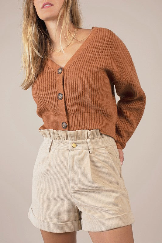 The Mittens Cropped Cardigan
