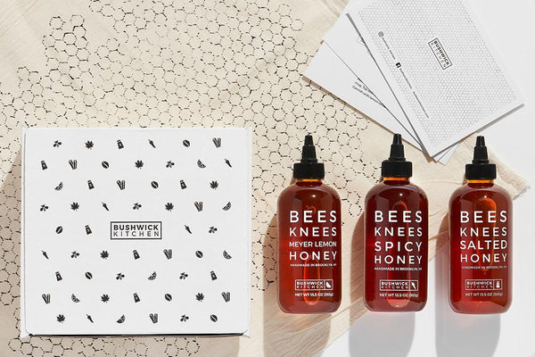 Bees KneesHoney Giftbox Trio by Bushwick Kitchen