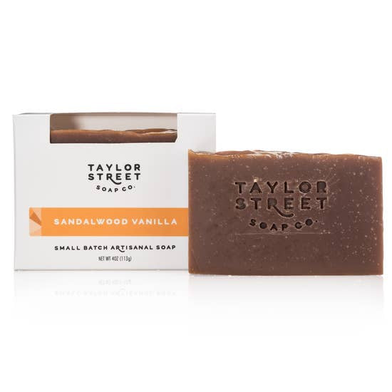 Sandalwood Vanilla Bar Soap by Taylor Street Soaps